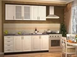Кухня модульная прямая.