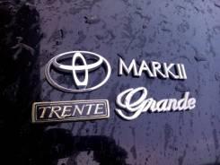 Эмблема. Toyota Cresta, GX100, GX90 Toyota Mark II, GX100, GX90 Toyota Chaser, GX100, GX90