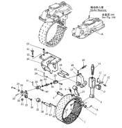 Лента тормозная акпп. Shantui SD32
