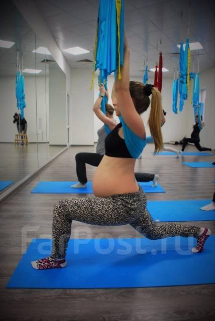 Йога в гамаках для беременных! Полезные занятия для Вас и ребенка!