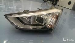Фара. Hyundai Santa Fe
