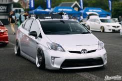 Повторитель поворота в бампер. Toyota Prius, ZVW30 Двигатель 2ZRFXE