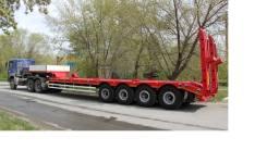Texoms. Односкатный высокорамный 56 тонн 4 осный от завода, 50 000 кг.
