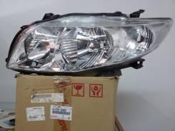 Фара. Toyota Corolla, ZRE151, ZZE150, ADE150, NDE150 Двигатели: 1NDTV, 1ZRFE, 4ZZFE, 1ADFTV