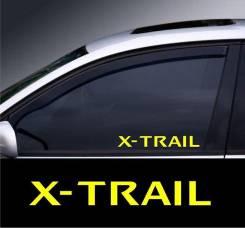 Наклейка. Nissan X-Trail