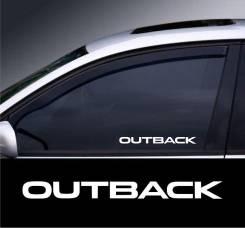 Наклейка. Subaru Outback