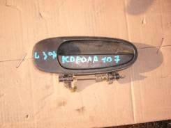 Ручка двери внешняя. Toyota Corolla, EE107 Двигатель 3E