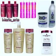 Восстановление волос. Кератиновое выпрямление, серицин, ботокс, коллаген