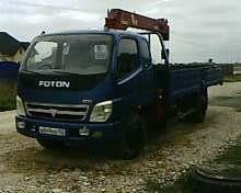 Foton Ollin BJ1069. Манипулятор Фотон, 5 000 куб. см., 3 000 кг., 12 м.