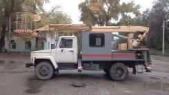 ГАЗ 3307. Автовышка, 4 200 куб. см., 17 м.