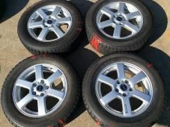 """Колеса Bridgestone 215/60 R16 на литье GIRO. 6.5x16"""" 5x114.30 ET38 ЦО 73,1мм."""
