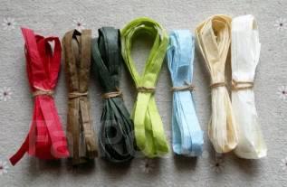 Рафия бумажная (набор из 7 цветов)