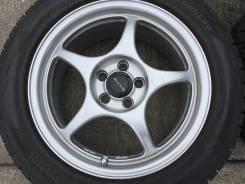 "Зима Dunlop 205/55 R16 на легкой ковке Enkei Racing RP-01. 7.0x16"" 5x100.00 ET48 ЦО 73,1мм."
