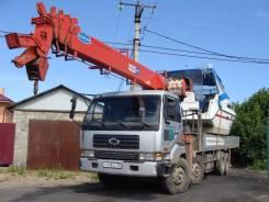 Samsung. Отличный грузовик с мощной стрелой !, 17 000 куб. см., 17 000 кг.