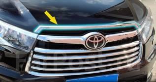 Дефлектор капота. Toyota Highlander, ASU50, GSU50, GSU55 Двигатели: 1ARFE, 2GRFXS, 2GRFKS
