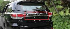 Накладка на дверь багажника. Toyota Highlander, GSU50, ASU50, GSU55 Двигатели: 2GRFKS, 2GRFXS, 1ARFE