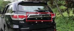 Накладка на дверь багажника. Toyota Highlander
