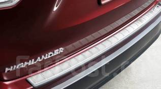 Накладка на бампер. Toyota Highlander, GSU50, GSU55, ASU50 Двигатели: 2GRFKS, 2GRFXS, 1ARFE