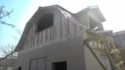 Каркасные дома, из бруса, панели