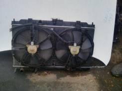 Радиатор охлаждения двигателя. Nissan AD, VENY11