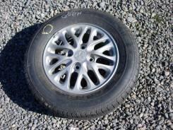 Полноценное запасное колесо на литом диске. x14 4x114.30