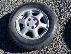 Полноценное запасное колесо на литом диске. x15 5x114.30