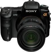 Sony Alpha DSLR-A700. 10 - 14.9 Мп, зум: 12х