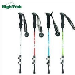 Палки для скандинавской ходьбы HiTrek. Телескопические 3 секции