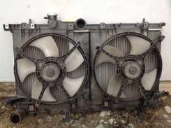 Радиатор Охлаждения с вентиляторами Subaru Legacy B4 be5 ej208 мкпп. Subaru Legacy B4, BE5