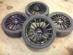 Колёса в сборе, диски promo RS Чёрн4x98 r16+резина toyo TDRB r16 195/45. 6.5x16 4x98.00 ET29 ЦО 58,6мм.