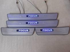 Накладка на порог. Ford Focus