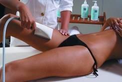 Антицеллюлитный ролико-вакуумный массаж.