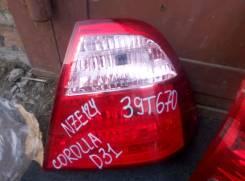 Стоп-сигнал. Toyota Corolla, CE120, CE121, NZE124, CDE120, ZRE120, ZZE120, ZZE121, ZZE122, NZE120, ZZE123, NZE121, ZZE124, NDE120 Двигатели: 2NZFE, 1N...