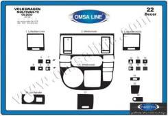 Консоль панели приборов. Volkswagen Multivan, 7HF, 7HM Двигатели: CAAA, AXE, CAAC, CJKB, AXA, BRS, BRR, CFCA, CAAB, AXB, AXD, CJKA, CFCACFCA, CAAD, CC...
