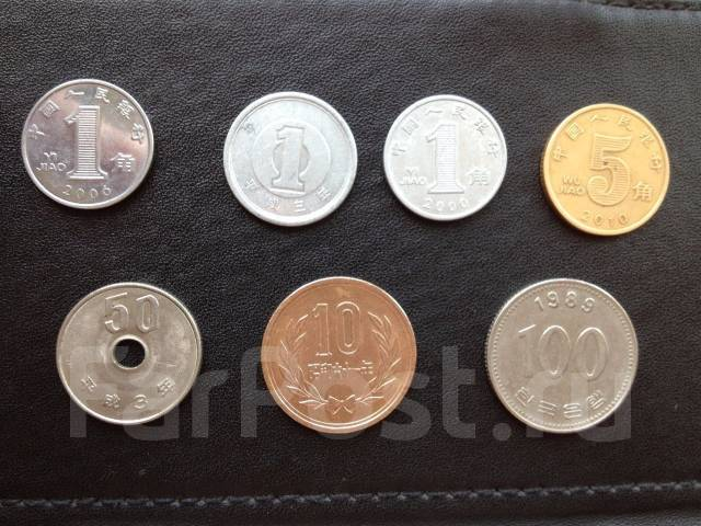 Японии монеты кореи как продать монеты купленные в сбербанке