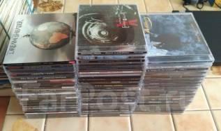 Коллекция CD-дисков. Рок и метал