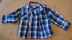 Рубашки джинсовые. Рост: 68-74 см