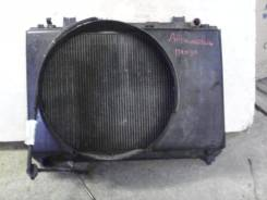 Радиатор охлаждения Тойота Таун Айс kr42;7k-e под мкпп. Toyota Town Ace, KR42 Двигатель 7KE