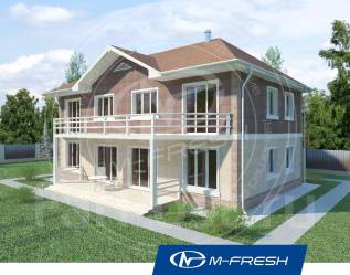 M-fresh Duplex Fine! -зеркальный (Дуплекс, таунхаус на две семьи! ). 200-300 кв. м., 2 этажа, 6 комнат, бетон