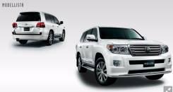 Обвес кузова аэродинамический. Toyota Land Cruiser, VDJ200, UZJ200W, UZJ200