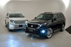 Обвес кузова аэродинамический. Toyota Land Cruiser Prado, GDJ150L, GRJ151, GDJ150W, GRJ150, GDJ151W, GRJ150L, TRJ150, KDJ150L, GRJ150W, GRJ151W, TRJ15...