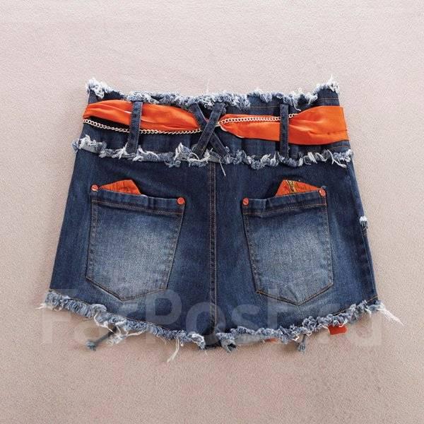 Шорты джинсовые. 46, 48