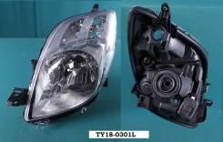 Фара. Toyota Vitz, KSP90, NCP91, NCP95, SCP90 Toyota Yaris, SCP90, NCP91, NCP92, NCP90, ZSP90, NCP93, KSP90, NLP90 Двигатели: 1NZFE, 2NZFE, 1KRFE