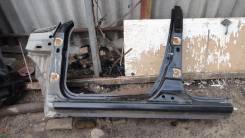 Кузов левый порог рено сандеро renault sandero