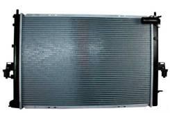 Радиатор охлаждения двигателя. Пелец Ровер Rover 75
