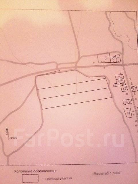Сдаю 9 Га под любой вид бизнеса вдоль дороги в Кролевцах. План (чертёж, схема) участка