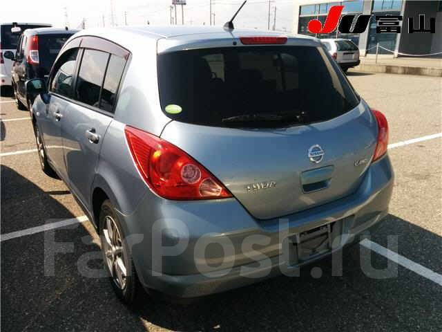 Nissan Tiida Latio. SNC11 SJC11 SC11, HR15