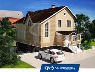 M-fresh Energy style-зеркальный (Проект каркасного дома для Вас! ). 200-300 кв. м., 2 этажа, 7 комнат, каркас