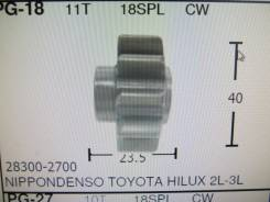 Шестерня стартера PG-18 Ф-40mm-23.5 11T oem-28300-2700 HILUX 2L