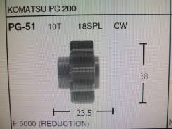 Шестерня стартера PG-51 Ф-38mm-23.5mm 10T Toyota 3L 3L